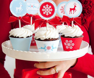 christmas, cupcakes, and demeter image