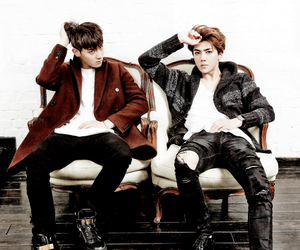 cool, fashion, and exo image