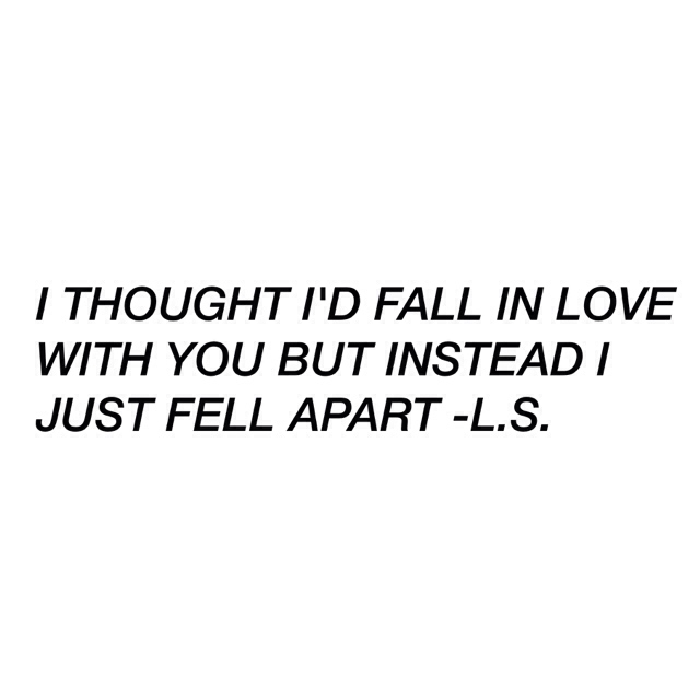 I know you\'ll never love me like you used to //