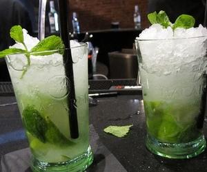 alcohol, mojito, and wine image