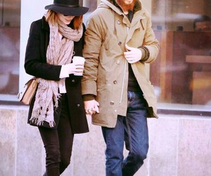 couple, emma stone, and sweet image