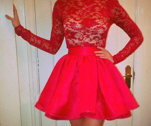 dress and red image