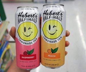 lemonade, drink, and tea image