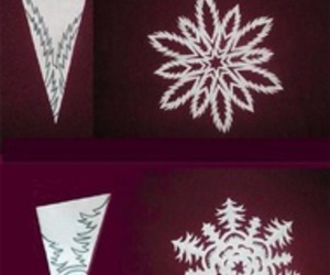 diy, snowflake, and crafts image