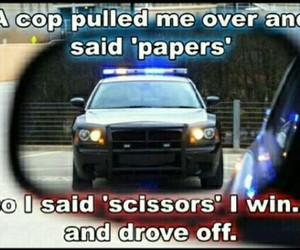 cops, police, and funny image