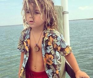 baby, beach, and menino image