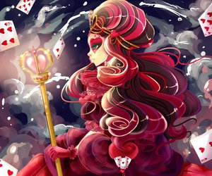 ever after high and lizzie hearts image