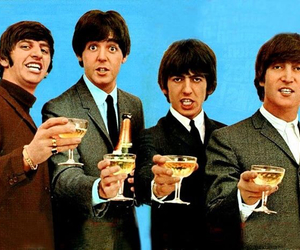 happy new year, the beatles, and brindis image
