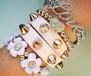bracelet and girly image
