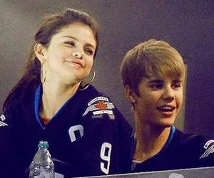 adorable, selena gomez, and justin bieber image