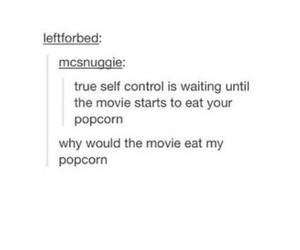 control, movie, and Pop cOrn image