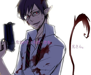 anime, blue exorcist, and yukio image