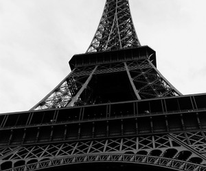 city, eiffel, and tower image