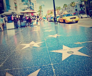 hollywood, los angeles, and stars image