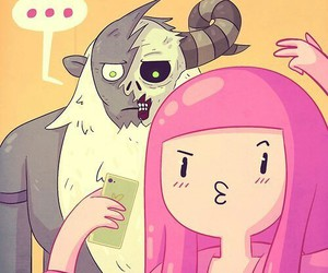 adventure time, selfie, and lich image