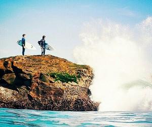 amigos, surf, and mar image