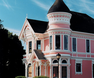 house, pink, and Dream image
