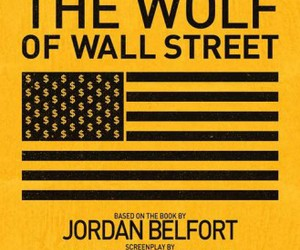 poster, print, and wolf of wall street image