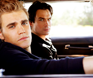 brothers, salvatore, and stefan image