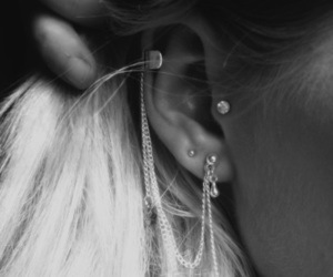 accesories, girl, and Piercings image