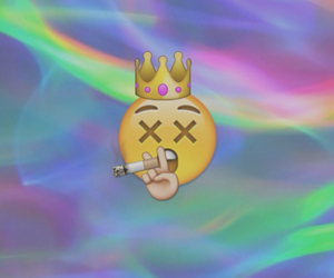 emoticons, fumar, and wallpaper image