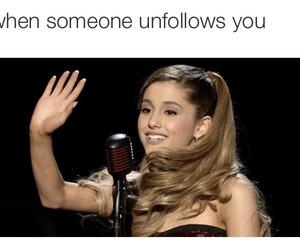 ariana grande, funny, and girl image