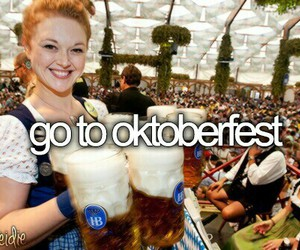 oktoberfest, beer, and germany image