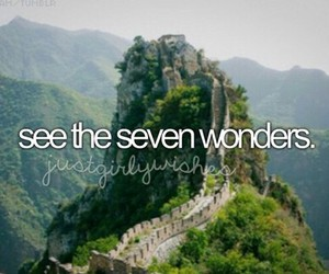 adventure, Seven Wonders, and travel image