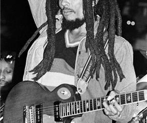 black and white, dread, and dreads image