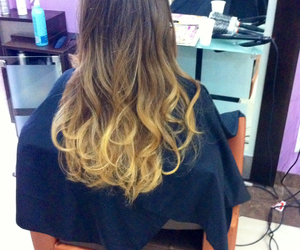 ombre and ombre hair image