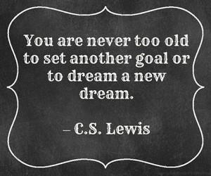Dream, goals, and quote image