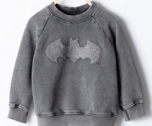 batman, kids, and sweater image