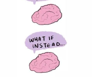 brain, funny, and work image