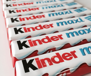 chocolate, kinder, and cute image