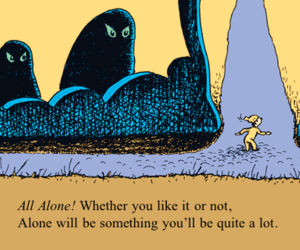 book, quote, and Dr. Seuss image