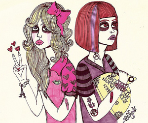 girl, fashion, and valfre image