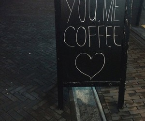coffee, heart, and me image