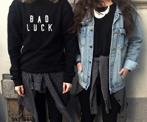 fashion, grunge, and black image