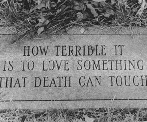 death, love, and quotes image