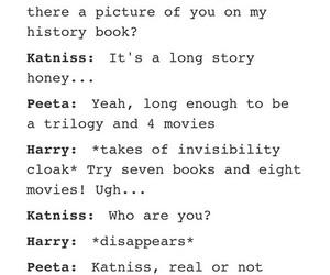 books, fandom, and funny image