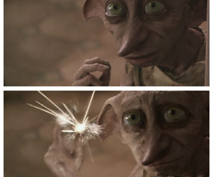 harry potter, remember, and dobby image