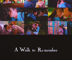 A Walk to Remember, cute, and love image