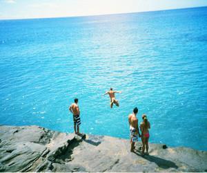 boy, ocean, and summer image