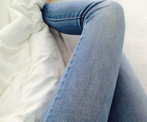 jeans, fashion, and legs image