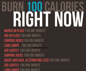 workout, fitness, and calories image