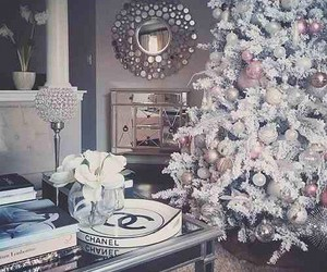 beautiful, christmas, and white image
