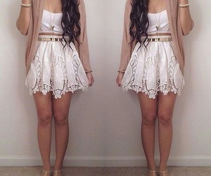 cropped, fashion, and white image
