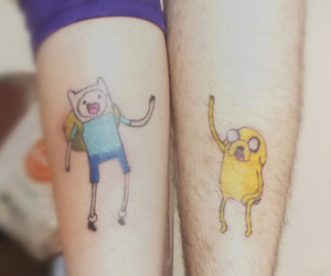 couple, tattoo, and cute image