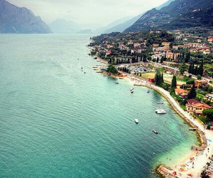 beach, italy, and summer image
