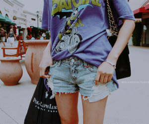 shorts, fashion, and batman image